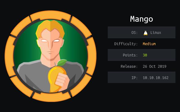 Mango HTB WriteUp